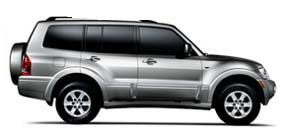 For rent Jeep Mitsubishi Montero